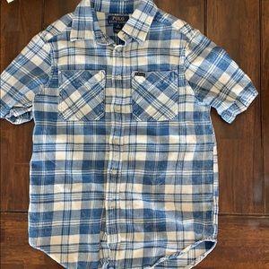Boys Polo button down shirt